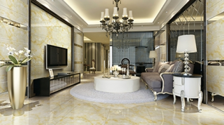 How can ceramic tile brand consumers identify the true and false?
